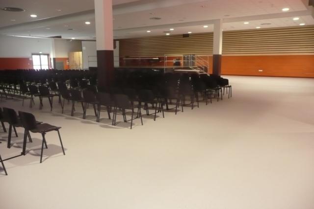 Autolissant Polyuréthane Acoustique Salle plurifonctionnelle