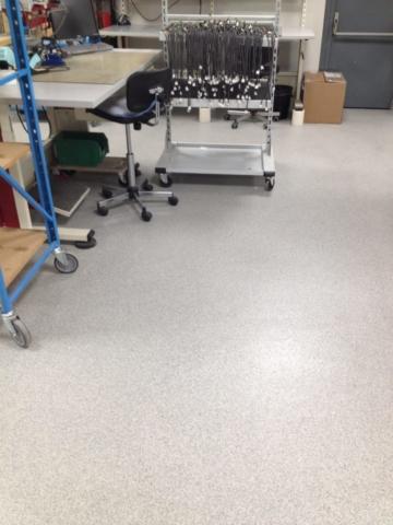 Quartz Color Antistatique Atelier d'assemble électronique