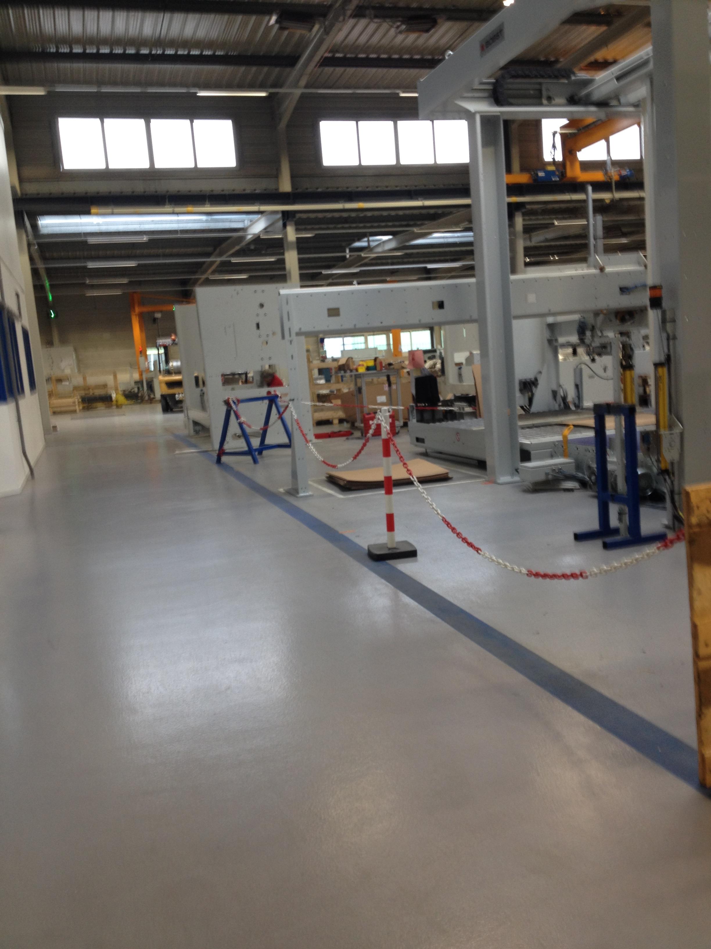 Polyuréthane Ciment Antistatique Atelier d'assemblage