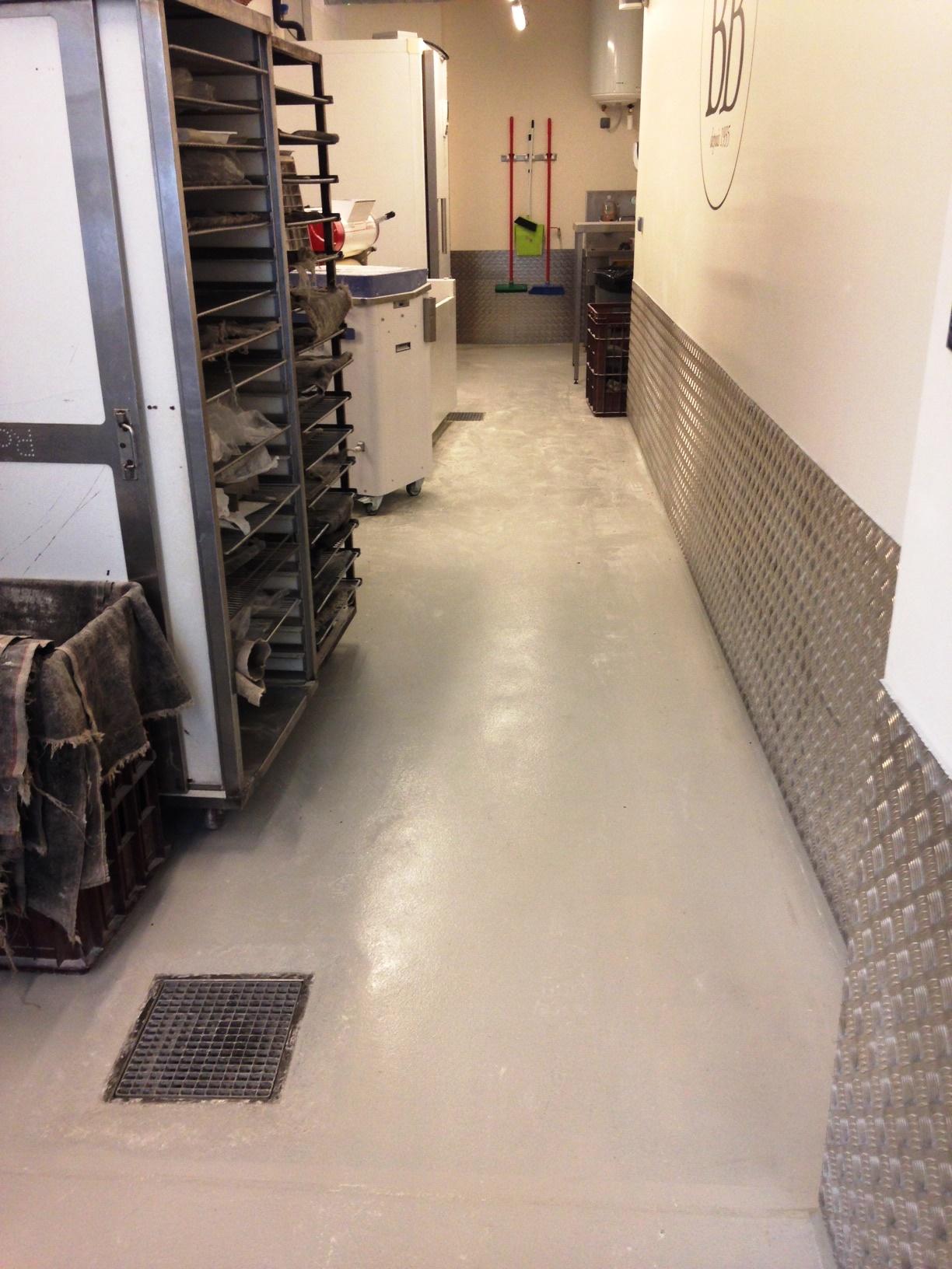Semi Lisse époxydique stratifié Boulangerie industrielle